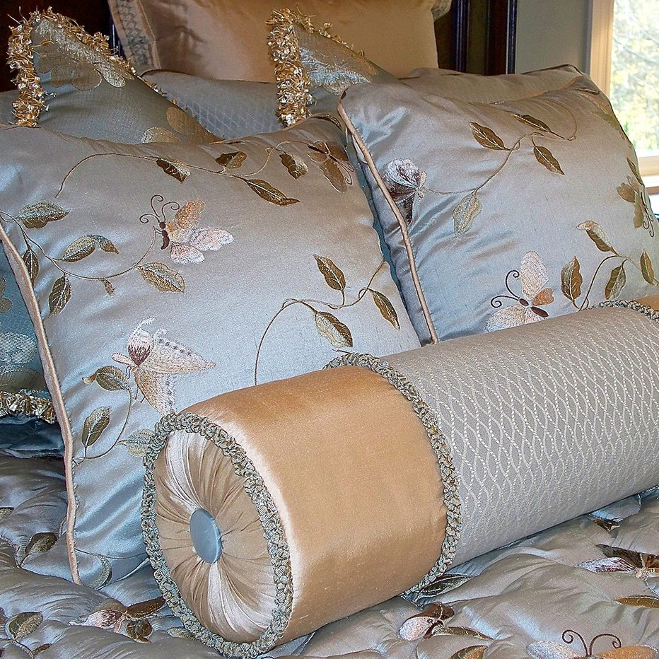 Embroidered Silk Bedding