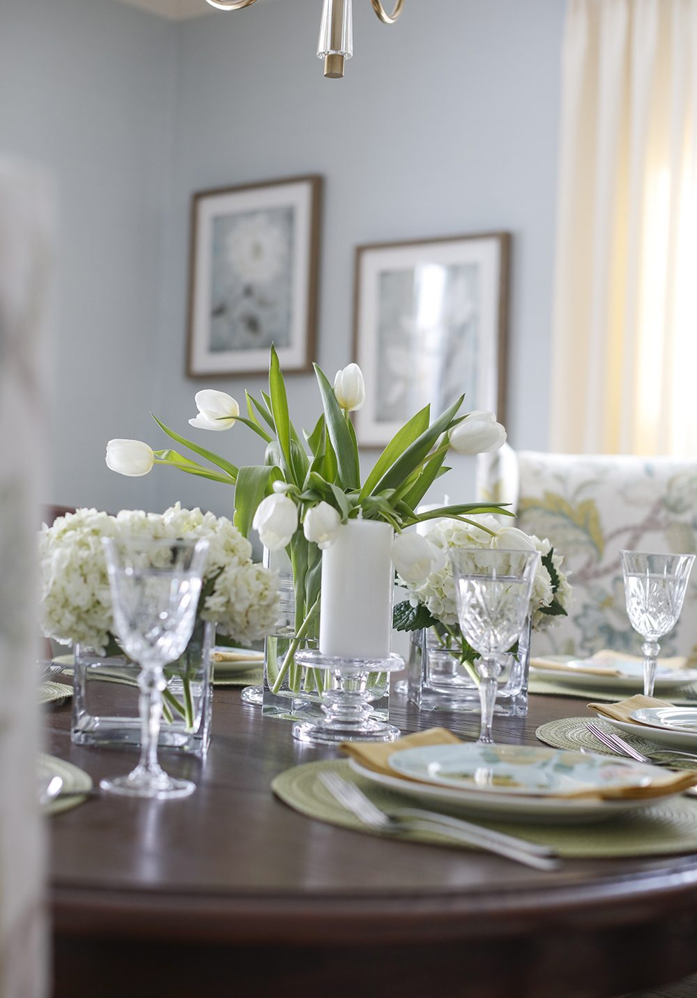 Table Setting-Tulips